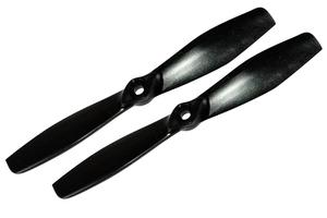 Hélice fibre SF 6x4,5  1/2 bullnose noir Gemfan (x2)