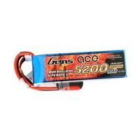 GensAce 5200mAh 11.1V 10/20C 3S2P Lipo Battery Pack