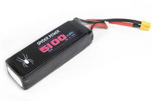 LI-PO Spyder Power 5100mah 35c 4s  XT60