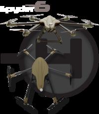 Spyder 6 1000mm  X6/X12 Multirotor Frame kit Sky-Hero