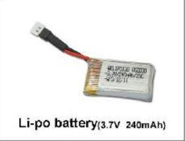 Batterie Lipo 3.7V 350Mah Ladybird Walkera