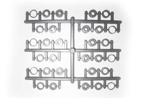 Set complet  d'adaptateurs  pour hélices