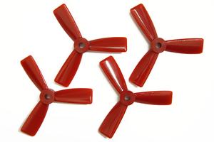 Hélices T3045 Tripales Rouge (2cw+2ccw) Dalprop
