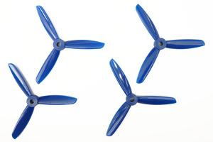 Hélices TJ4045 Tripales Bleu (2cw+2ccw) Dalprop
