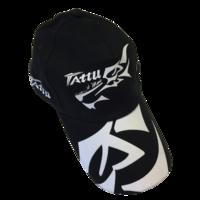 Casquette Tattu noire et motif blanc