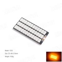 Barre LED 5730 - 1203 ORANGE