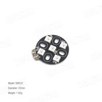 Anneau 5 LED SW2812 - Fixation Moteur