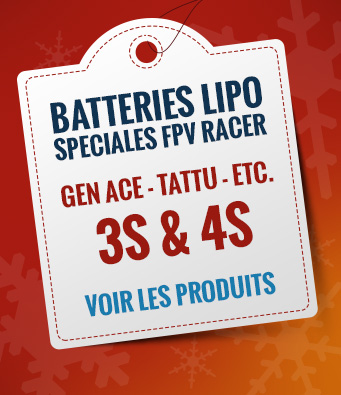 Batteries lipo fpv racer